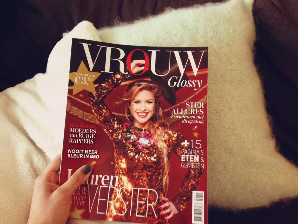 vrouw glossy magazine